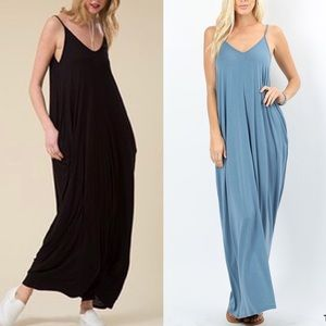 ELLIE Maxi Dress - BLACK